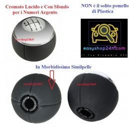 Pomello Mini 01 R50/R52/R53 6 Marce Argento